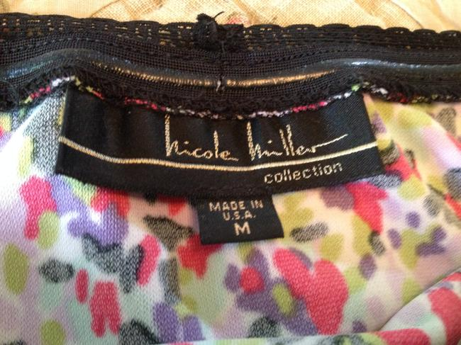Nicole Miller Strapless Rouching Mid Length Dress Image 3