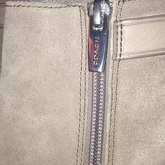 Coach Grey Boots Image 7