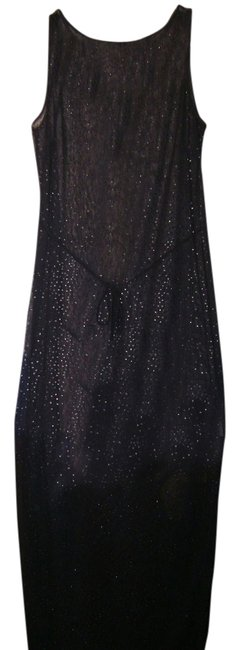 Preload https://img-static.tradesy.com/item/2137817/maxime-black-with-glitter-party-girls-night-out-long-cocktail-dress-size-8-m-0-0-650-650.jpg