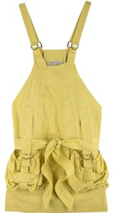See by Chloé short dress Yellow Mini Dungaree Overalls Overall on Tradesy