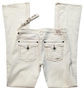 1921 Jeans Boot Cut Jeans-Light Wash