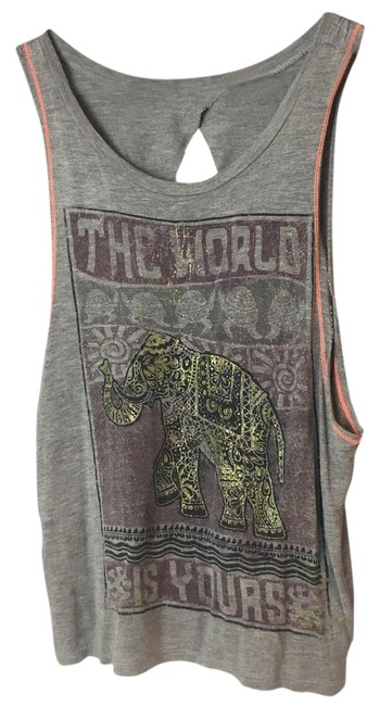 Item - XS World Is Yours- Open Tank Top/Cami Size 2 (XS)