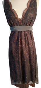 Twelfth St. by Cynthia Vincent Lace Elegant Shimmer Stunner Dress