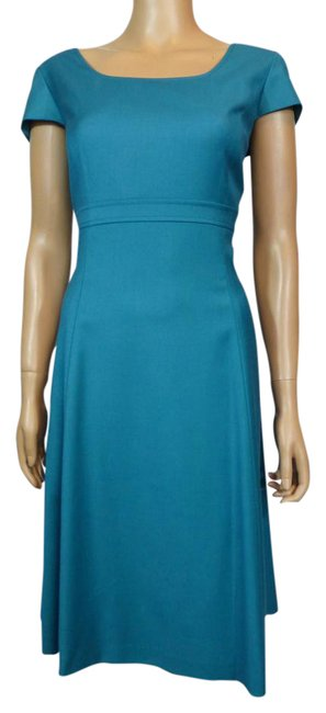 Preload https://img-static.tradesy.com/item/21378339/alex-marie-blue-green-cap-sleeve-short-workoffice-dress-size-10-m-0-1-650-650.jpg