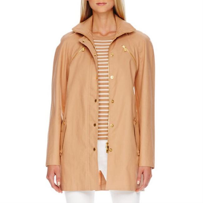 Michael Kors Tan Jacket Image 1
