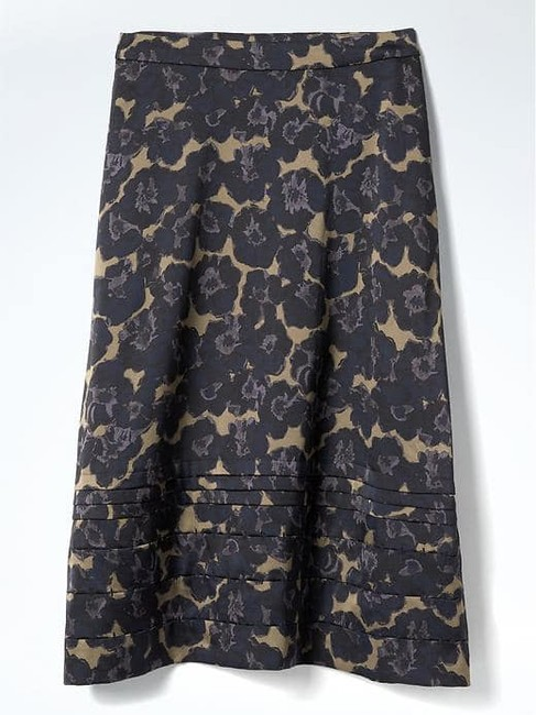 Banana Republic Floral A-line Skirt Multicolor Image 2