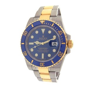 Rolex Rolex Submariner 116613LB 18k Yellow Gold Stainless Steel Oyster Autom