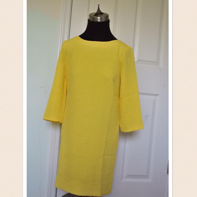 Preload https://img-static.tradesy.com/item/21378639/essentiel-antwerp-yellow-34-sleeve-mid-length-short-casual-dress-size-0-xs-0-2-650-650.jpg