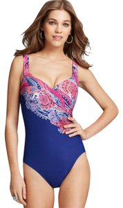 Miraclesuit Miraclesuit Great Expectations Amici One Piece Swimsuit, size 14, NWT
