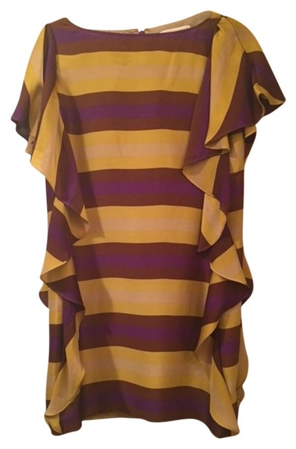 Preload https://item5.tradesy.com/images/michael-kors-dress-purple-and-gold-2137889-0-0.jpg?width=400&height=650