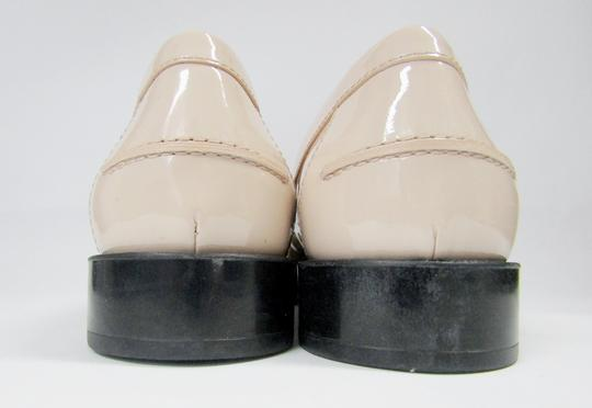 Tod's Loafers Moccasins Patent Leather Fringe Tassels nude/black Flats Image 10