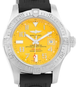 Breitling Breitling Aeromarine Avenger II Seawolf Yellow Dial Mens Watch A17331