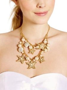 Kate Spade NWT KATE SPADE CORAL REEF DOUBLE STATEMENT NECKLACE