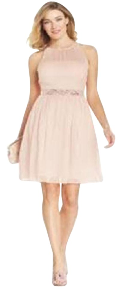 f3bf4fedc1e73 Adrianna Papell Blush 041901380 Mid-length Night Out Dress Size 8 (M ...