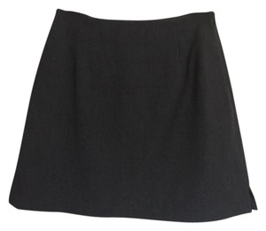 The Limited Mini Stretch Skirt gray
