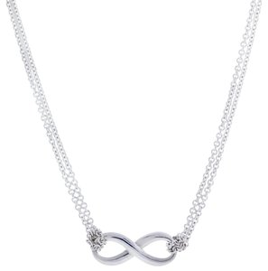 Tiffany & Co. infinity necklace