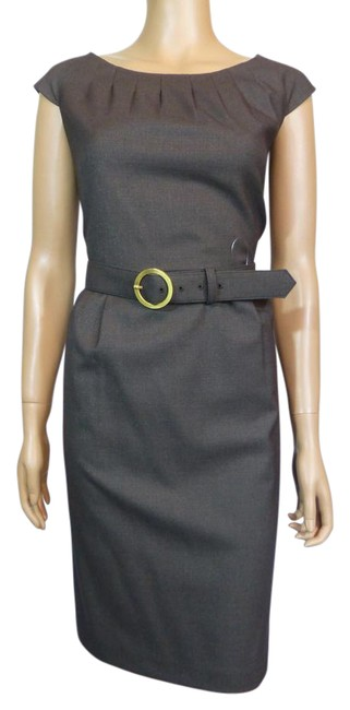 Preload https://img-static.tradesy.com/item/21379434/alex-marie-brown-cap-sleeve-belted-short-workoffice-dress-size-petite-12-l-0-1-650-650.jpg