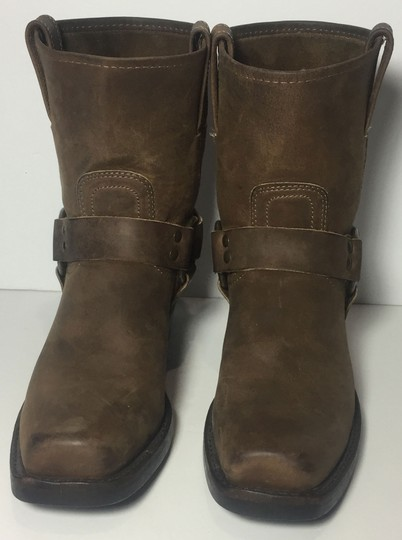 Frye 77455 Harness Size 7.5 Women Size 7.5 Brown Boots Image 1