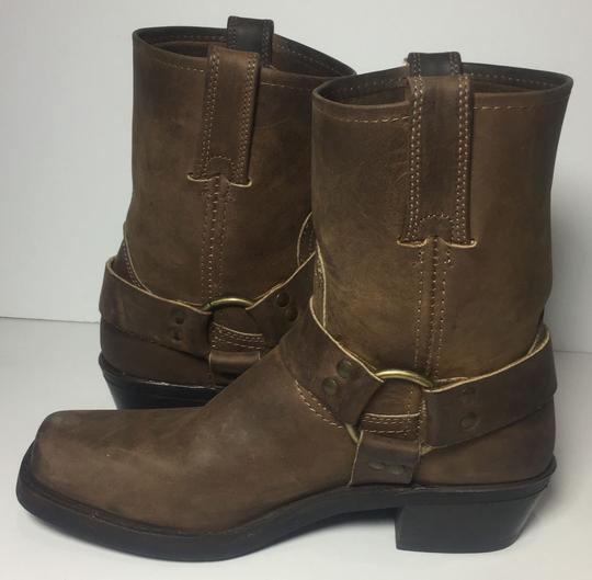 Frye 77455 Harness Size 7.5 Women Size 7.5 Brown Boots Image 2