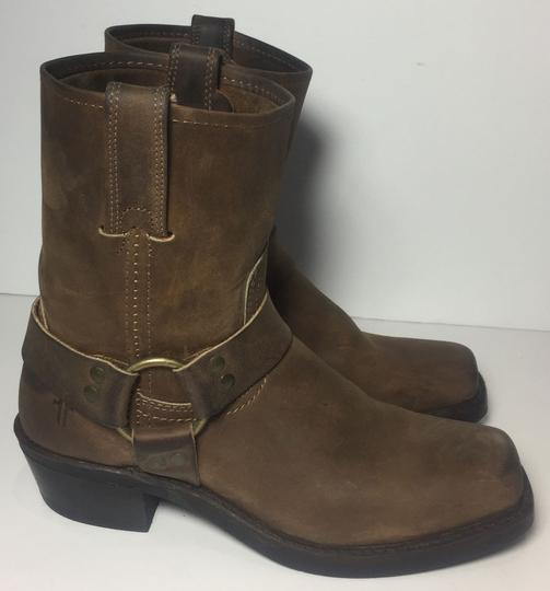 Frye 77455 Harness Size 7.5 Women Size 7.5 Brown Boots Image 3