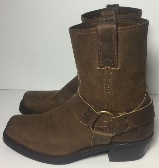 Frye 77455 Harness Size 7.5 Women Size 7.5 Brown Boots Image 5