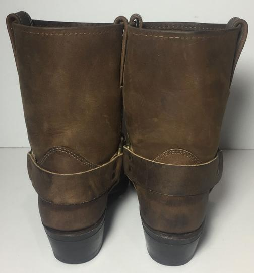 Frye 77455 Harness Size 7.5 Women Size 7.5 Brown Boots Image 6