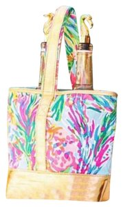 Lilly Pulitzer Lilly Fan Sea Pants Travel Bag
