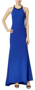 Calvin Klein Blue Formal Gown Dress