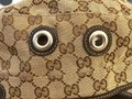 Gucci Gucci Beige Brown Monogram Canvas Military Hat Image 8