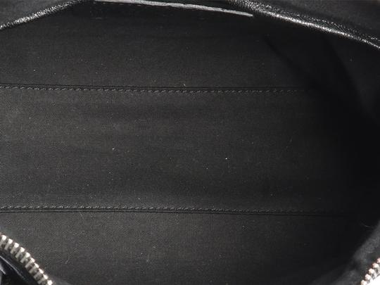 Alexander McQueen Spikes Am.l0130.07 Studded Foldover Leather Tote in black Image 8