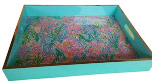 Lilly Pulitzer Lilly Pulitzer Large Lacquer Tray GWP. New