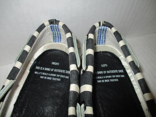 Sperry Navy and White Flats Image 1