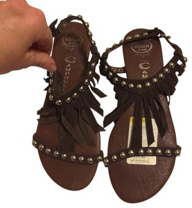 Jeffrey Campbell Brown Sandals