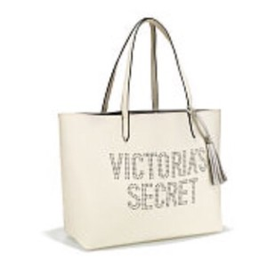 Victoria's Secret Tote in off white