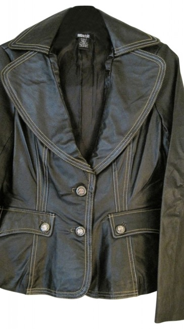 Preload https://item1.tradesy.com/images/metro-style-black-button-by-leather-jacket-size-6-s-21380-0-0.jpg?width=400&height=650
