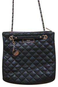 DKNY Shoulder Quilted Leather Cross Body Bag