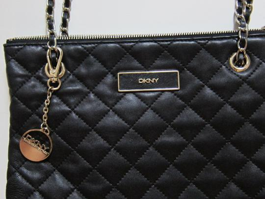 DKNY Shoulder Quilted Leather Cross Body Bag Image 3