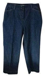 Jones New York Capri/Cropped Denim-Dark Rinse