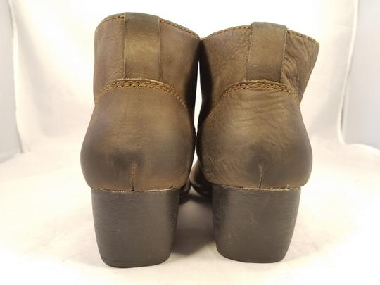 Brn Western Cowboy Ankle Woman Brown Boots Image 4