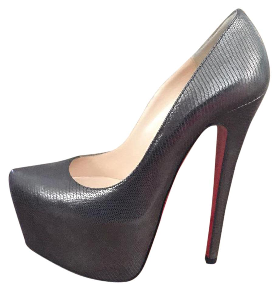 Christian Louboutin Anthracite Daffodile Daffodile Anthracite 160mm Platforms e24d90