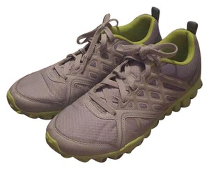 Reebok light grey and green Athletic