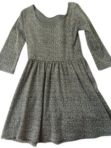 Nordstrom short dress Gray on Tradesy
