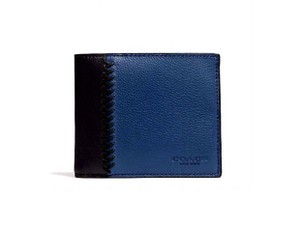 Coach Coach men's Leather compact ID wallet