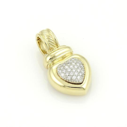 Preload https://img-static.tradesy.com/item/21381258/david-yurman-yellow-gold-18k-and-pave-diamonds-heart-pendant-charm-0-0-540-540.jpg