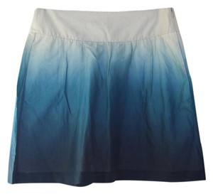 Theory Skirt Blue Ombre