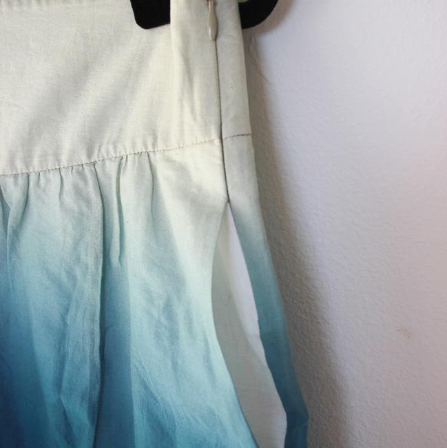 Theory Skirt Blue Ombre Image 1