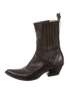 Sartore Vintage Western Leather black Boots