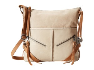 Lucky Brand Leather Fossil Satchel Soft Cross Body Bag
