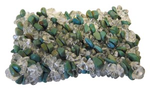 Mine Finds by Jay King Mine Finds by Jay King Green Turquoise and Resin Stretch Bracelet