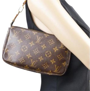 Louis Vuitton Pochette Accessoires Wallet Clutch Small Lv Pochette Shoulder Bag